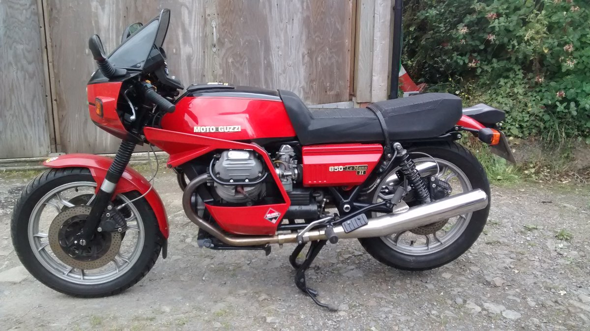 1981 Moto Guzzi Le Mans For Sale (picture 1 of 4)