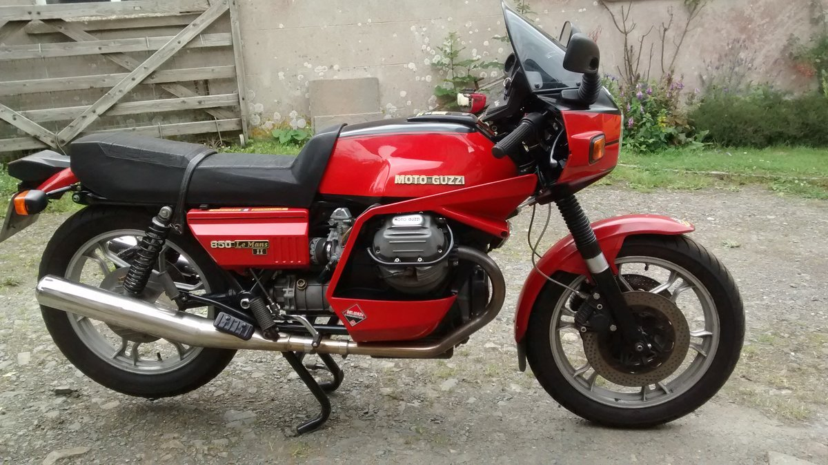 1981 Moto Guzzi Le Mans For Sale (picture 2 of 4)