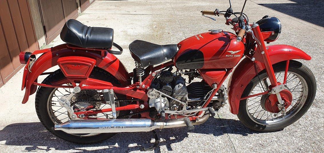 1949 moto guzzi, airone militare 250 | Hessinks Auctioneers