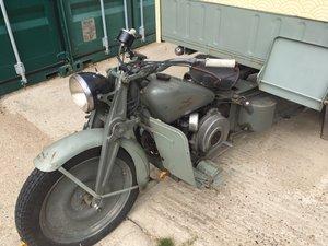Moto Guzzi Ercole Restored 1948