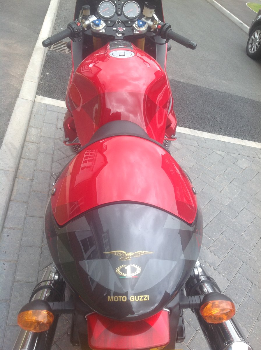 2003 Moto Guzzi V11 Le Mans Rosso Corsa - restored For Sale (picture 6 of 6)