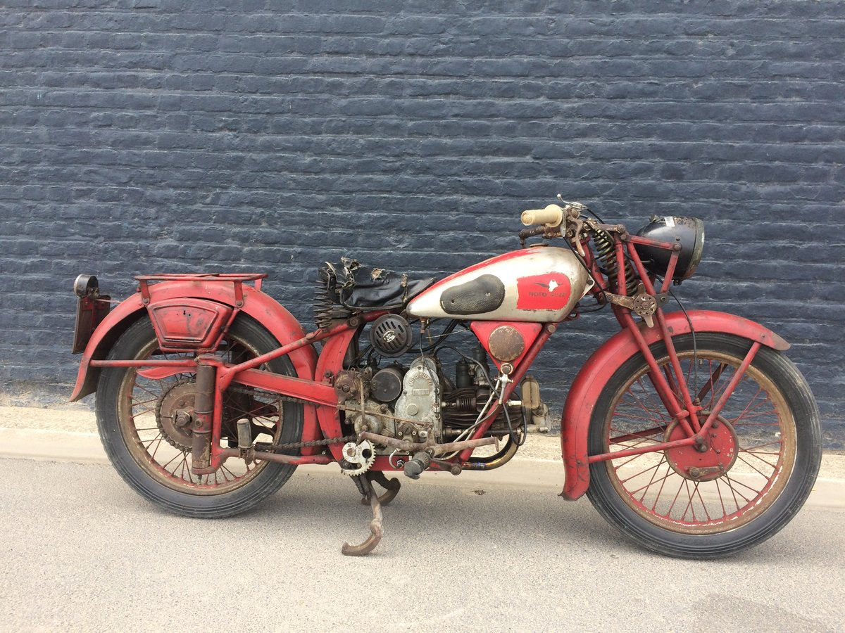 1936 moto guzzi 500s in original condition For Sale (picture 1 of 6)