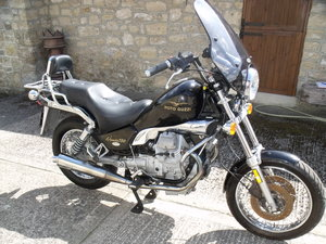 Moto Guzzi Nevada 750 cruiser French Registered
