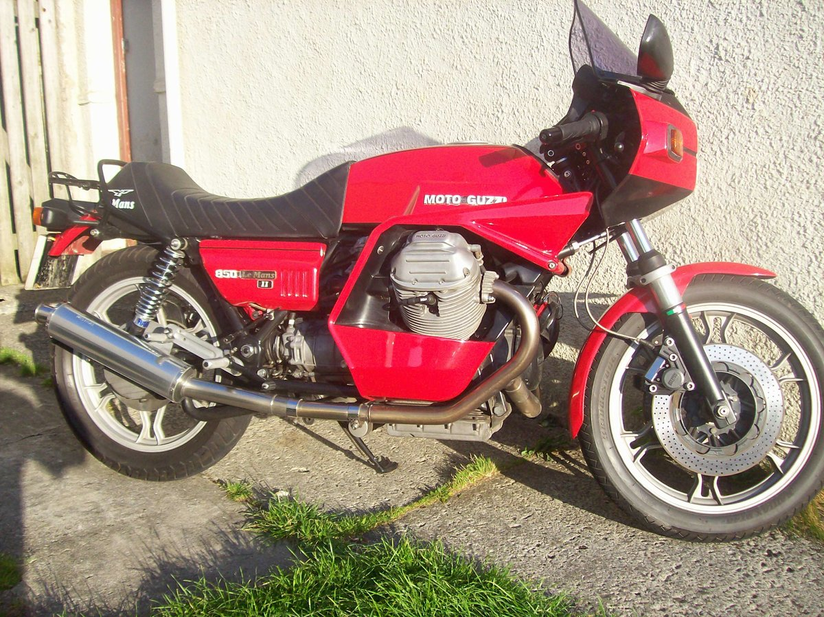 1979 Moto Guzzi 850 Le Mans MK2 For Sale (picture 5 of 5)