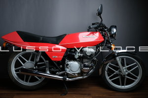 Super low miles immaculate Moto Guzzi 254