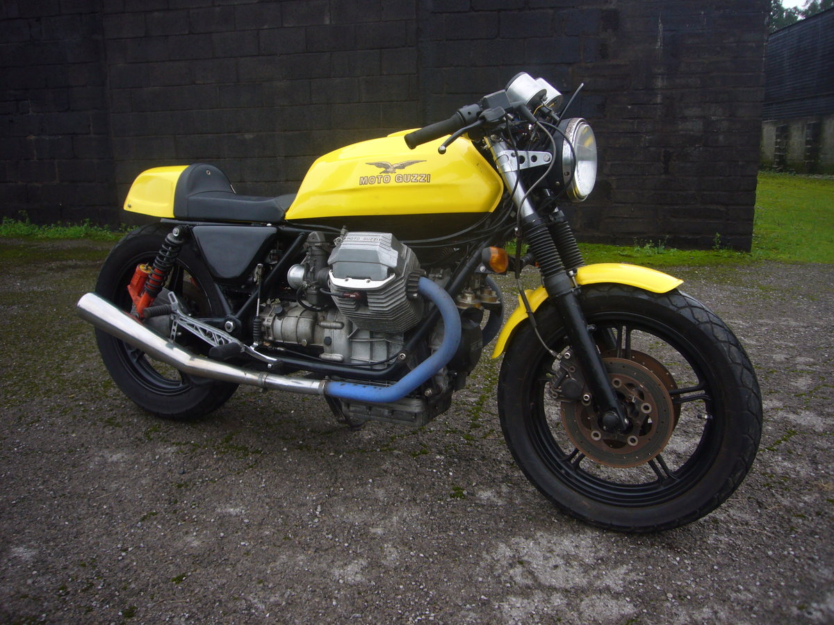 1988 Moto Guzzi Le Man 1000 Cafe Racer style For Sale (picture 5 of 6)