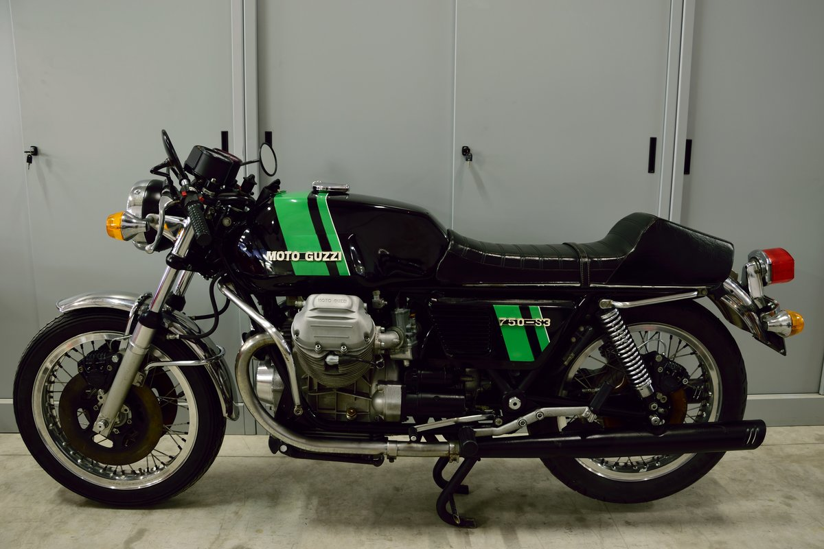 1975 Moto Guzzi V7 750 S3 For Sale (picture 1 of 6)