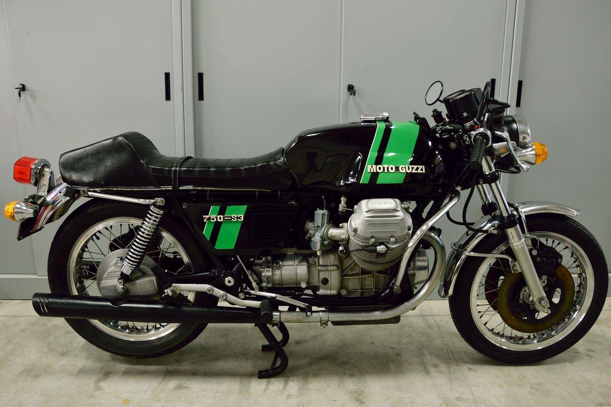 1975 Moto Guzzi V7 750 S3 For Sale (picture 2 of 6)