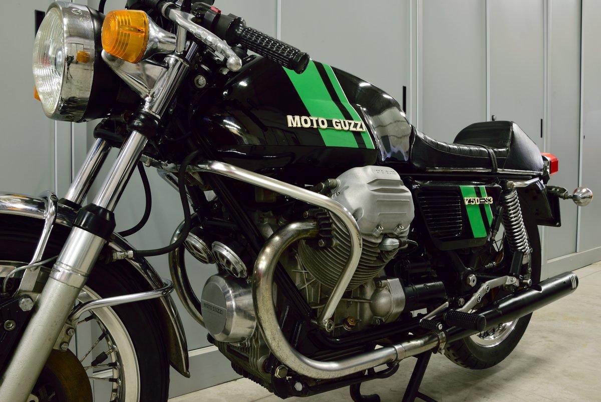 1975 Moto Guzzi V7 750 S3 For Sale (picture 3 of 6)