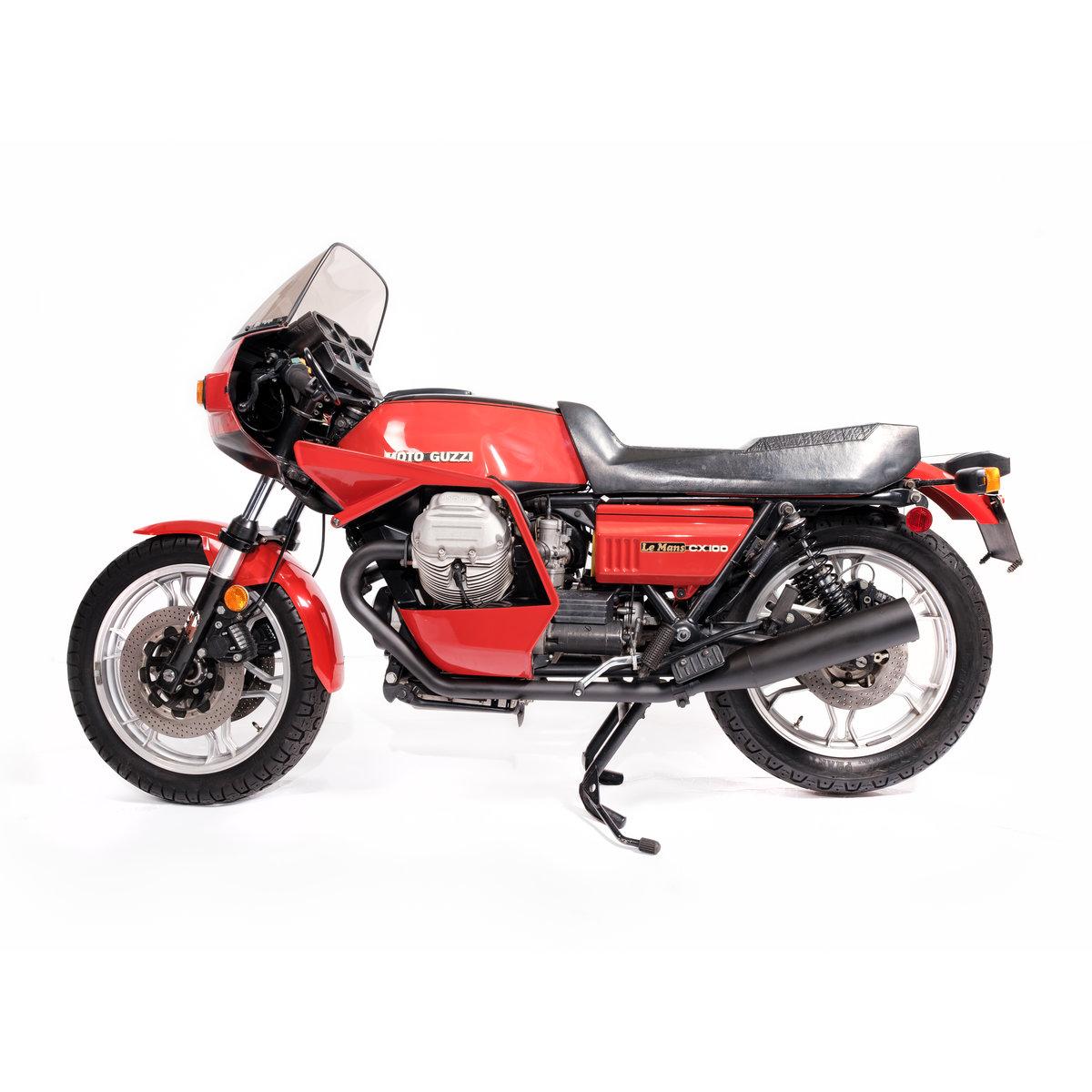 1981 Moto Guzzi CX100 Unique in the UK ? For Sale (picture 1 of 12)