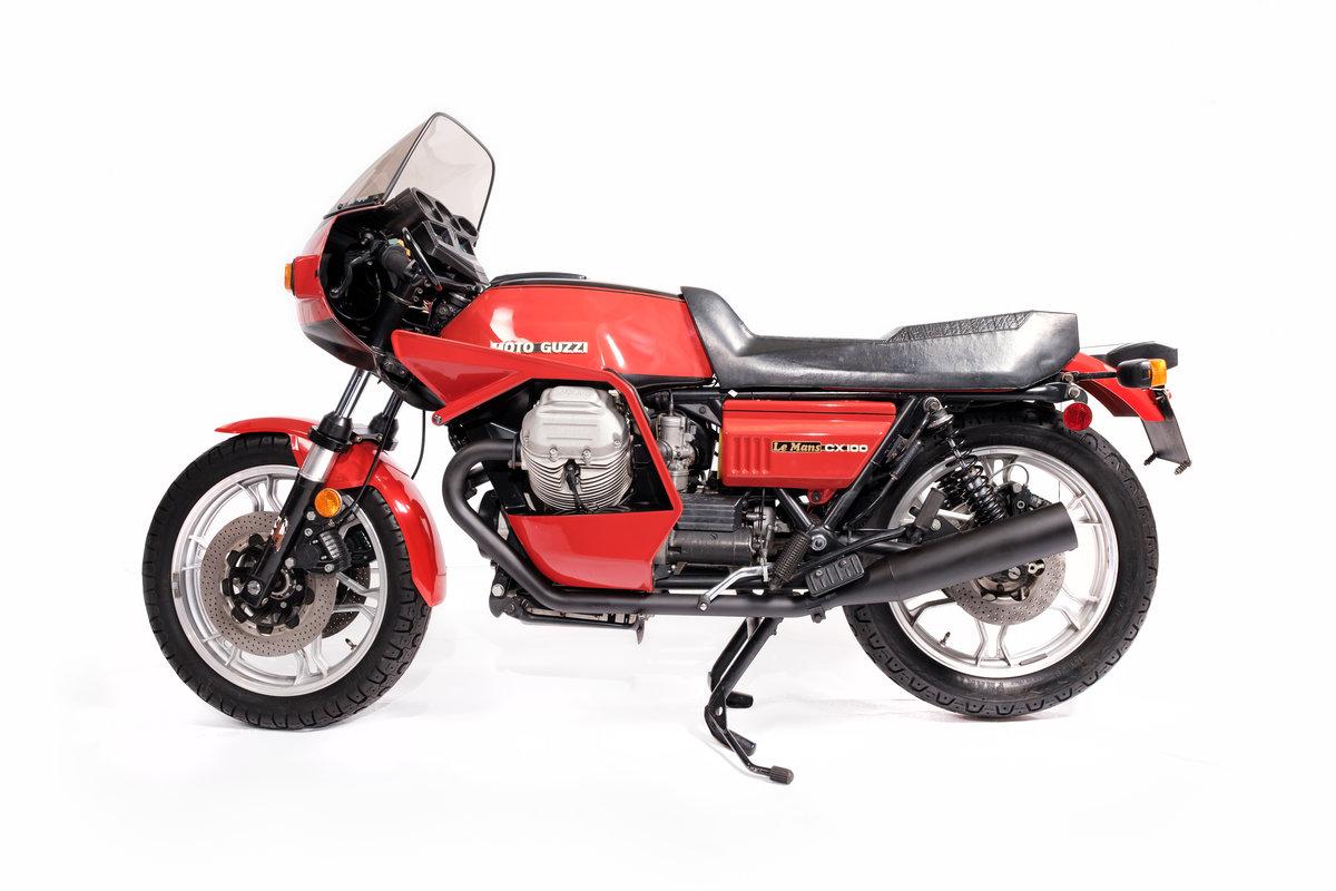 1981 Moto Guzzi CX100 Unique in the UK ? For Sale (picture 2 of 12)