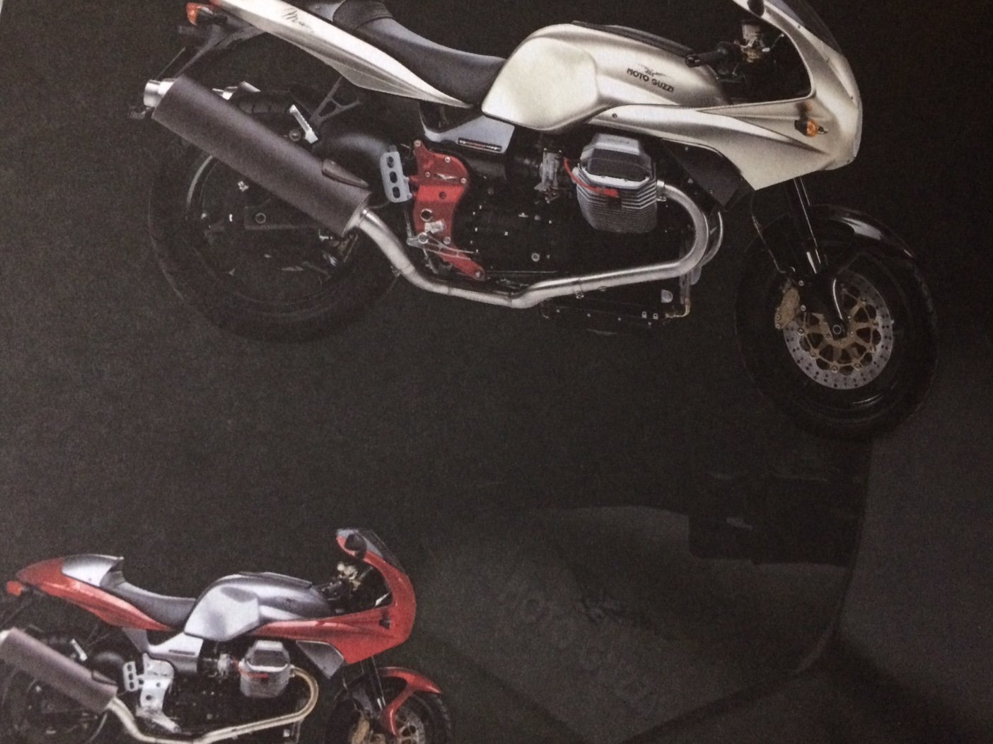 Moto Guzzi Collection 2001 brochure For Sale (picture 1 of 9)