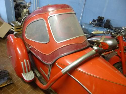1947 Moto Guzzi 500 GTV sidecar, family car of a famous Racer SOLD (picture 1 of 4)