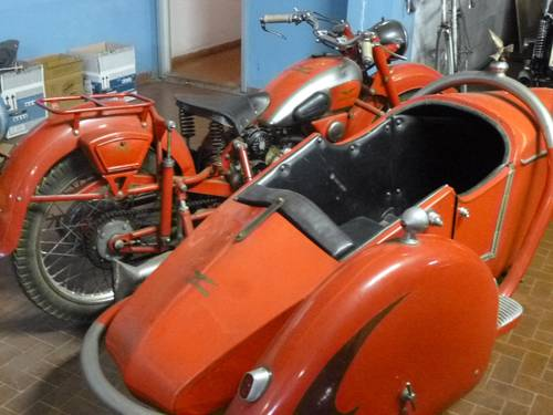 1947 Moto Guzzi 500 GTV sidecar, family car of a famous Racer SOLD (picture 2 of 4)