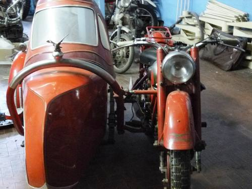 1947 Moto Guzzi 500 GTV sidecar, family car of a famous Racer SOLD (picture 3 of 4)