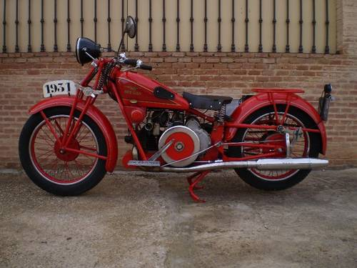 MOTO GUZZI GT16 500cc YEAR 1931 For Sale (picture 1 of 6)