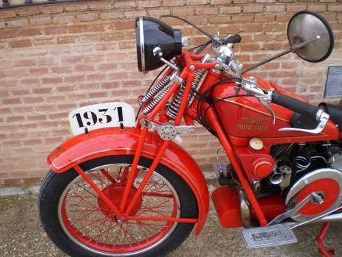 MOTO GUZZI GT16 500cc YEAR 1931 For Sale (picture 6 of 6)