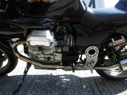 1996 Moto guzzi 1100 Sport Stunning as new condition Original SOLD (picture 4 of 6)