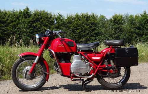 1977 Moto Guzzi Nuovo Falconi 500 electric start, ready to ride SOLD (picture 1 of 6)