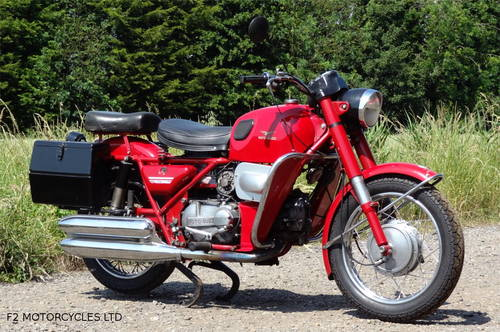 1977 Moto Guzzi Nuovo Falconi 500 electric start, ready to ride SOLD (picture 2 of 6)