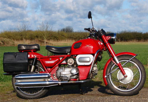 1977 Moto Guzzi Nuovo Falconi 500 electric start, ready to ride SOLD (picture 4 of 6)