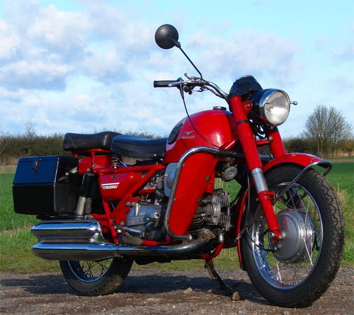 1977 Moto Guzzi Nuovo Falconi 500 electric start, ready to ride SOLD (picture 5 of 6)