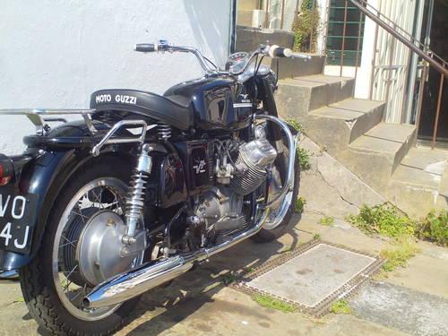 1971 MOTO GUZZI V7 AMBASSADOR SOLD (picture 2 of 6)