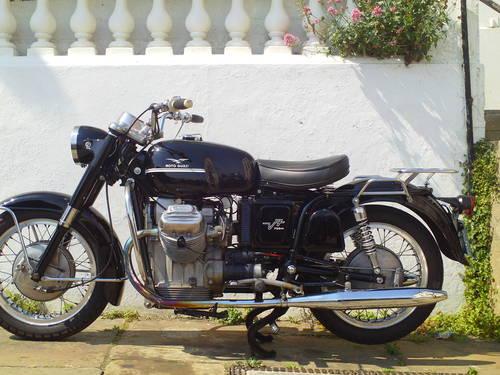 1971 MOTO GUZZI V7 AMBASSADOR SOLD (picture 3 of 6)