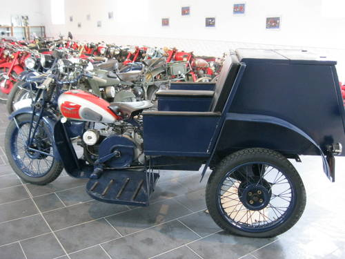 1943 Moto Guzzi Trialce patrol service For Sale (picture 1 of 6)