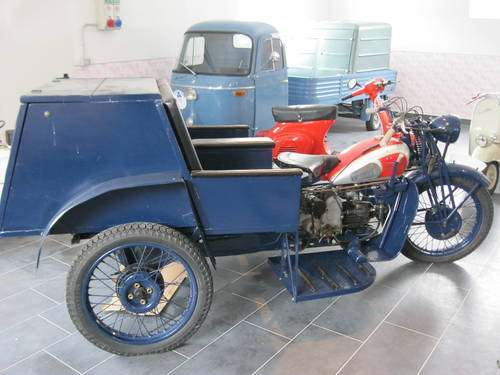 1943 Moto Guzzi Trialce patrol service For Sale (picture 2 of 6)