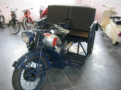 1943 Moto Guzzi Trialce patrol service For Sale (picture 3 of 6)