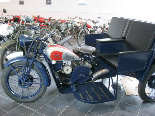 1943 Moto Guzzi Trialce patrol service For Sale (picture 4 of 6)