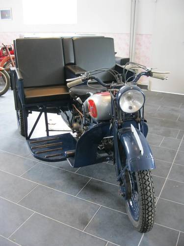 1943 Moto Guzzi Trialce patrol service For Sale (picture 5 of 6)