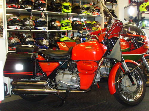 Moto Guzzi Nuovo Falcone 1971 - Ex Italian Fire Brigade - UK For Sale (picture 1 of 6)
