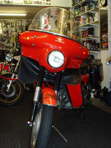 Moto Guzzi Nuovo Falcone 1971 - Ex Italian Fire Brigade - UK For Sale (picture 2 of 6)