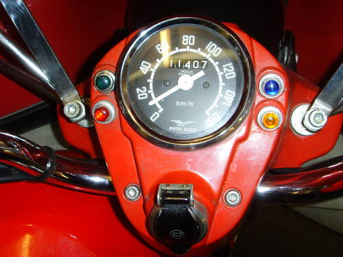 Moto Guzzi Nuovo Falcone 1971 - Ex Italian Fire Brigade - UK For Sale (picture 3 of 6)