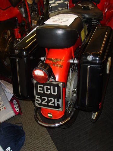 Moto Guzzi Nuovo Falcone 1971 - Ex Italian Fire Brigade - UK For Sale (picture 5 of 6)