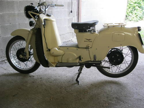 1954 Moto Guzzi Galletto 192 pedal start totally restor For Sale (picture 1 of 6)