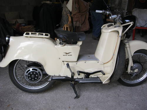 1954 Moto Guzzi Galletto 192 pedal start totally restor For Sale (picture 3 of 6)