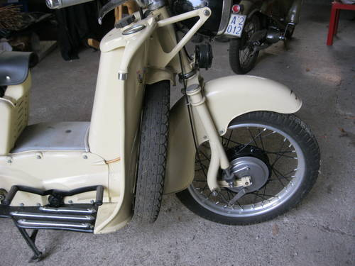 1954 Moto Guzzi Galletto 192 pedal start totally restor For Sale (picture 5 of 6)