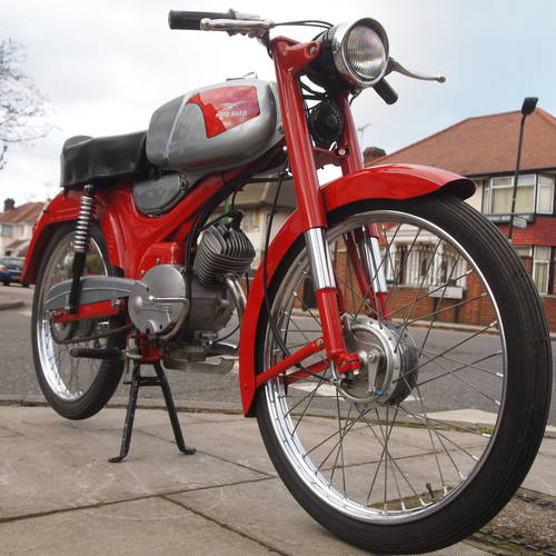 1964 Rare Moto Guzzi Dingo, RESERVED FOR JAMES.. SOLD (picture 2 of 6)