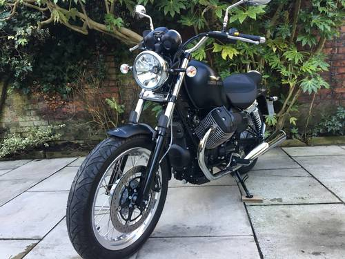 2017 Moto Guzzi Nevada 750, 130Miles, 1 Owner SOLD (picture 2 of 6)