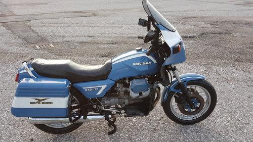 1990 Moto Guzzi 850 T5 ex polizia For Sale (picture 2 of 6)