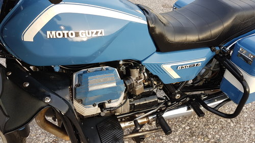 1990 Moto Guzzi 850 T5 ex polizia For Sale (picture 3 of 6)