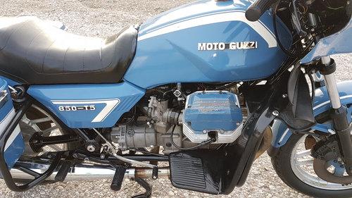 1990 Moto Guzzi 850 T5 ex polizia For Sale (picture 4 of 6)