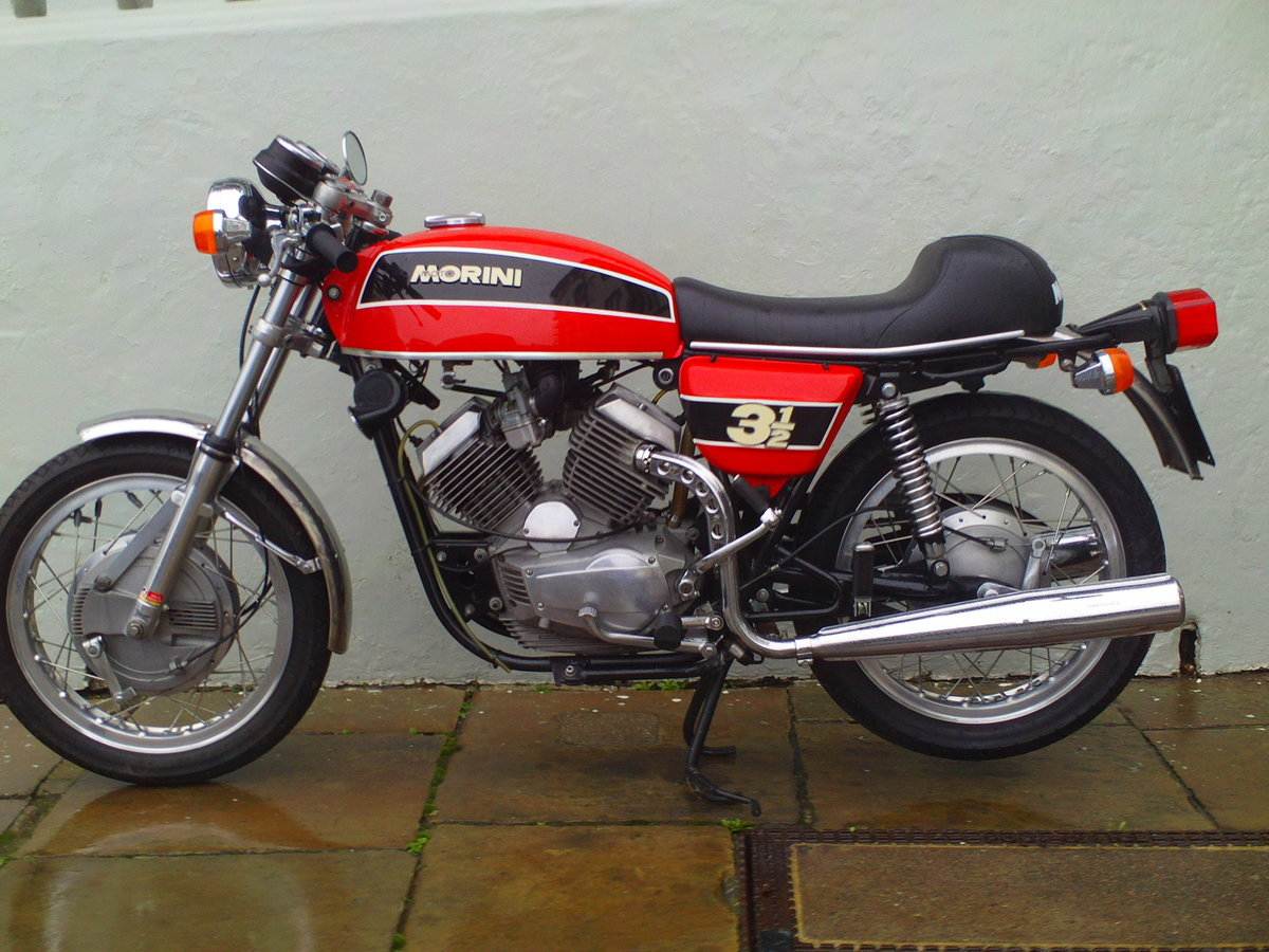 1975 MOTO MORINI 3 1/2 SPORT SOLD (picture 1 of 6)