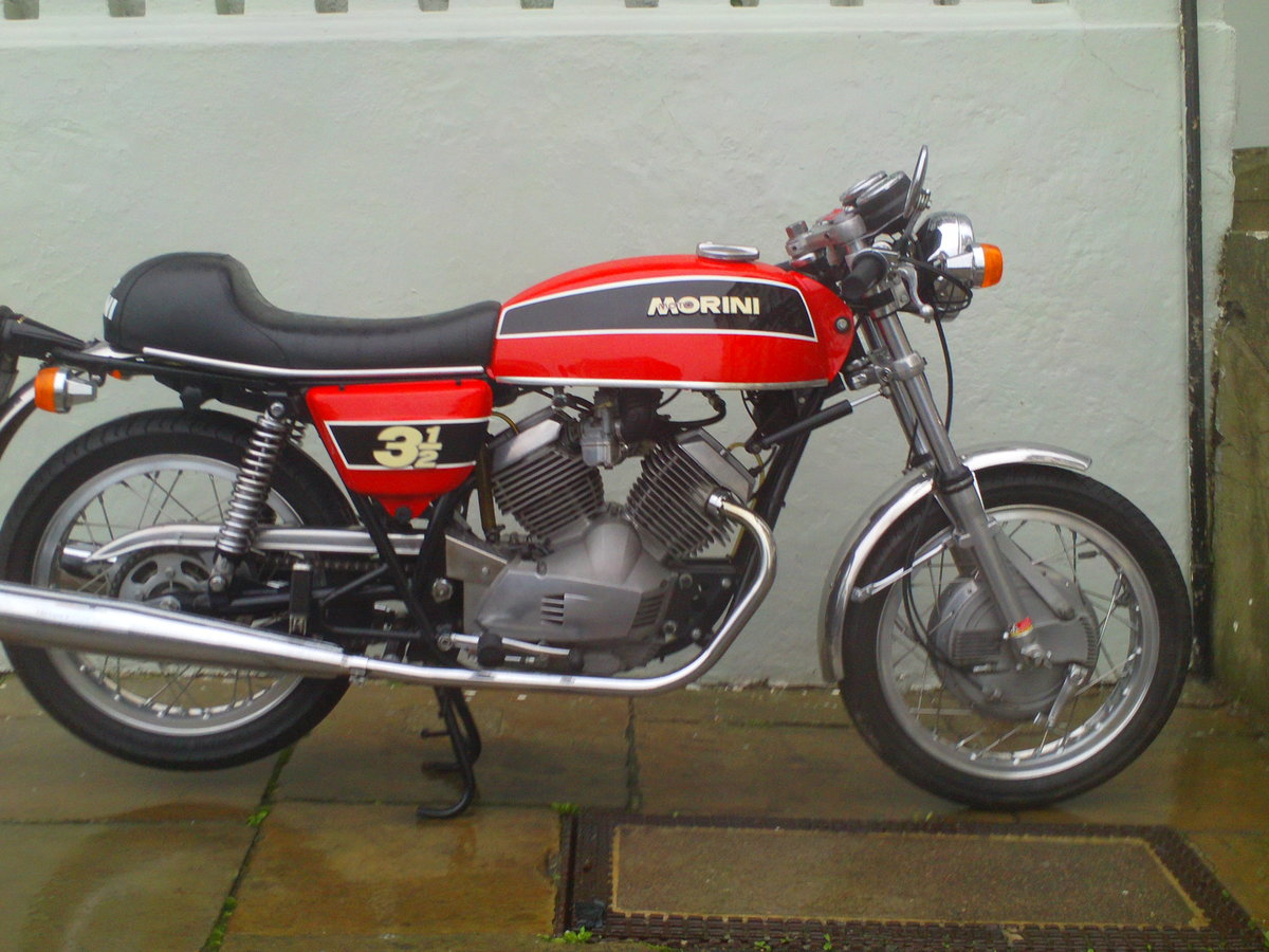 1975 MOTO MORINI 3 1/2 SPORT SOLD (picture 2 of 6)