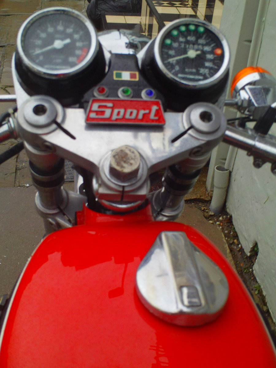 1975 MOTO MORINI 3 1/2 SPORT SOLD (picture 4 of 6)