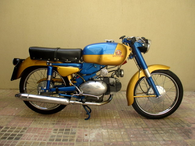MOTOBI CATRIA TYPE 'LUXURY' 175 4T (1960) PERFECT For Sale (picture 1 of 6)
