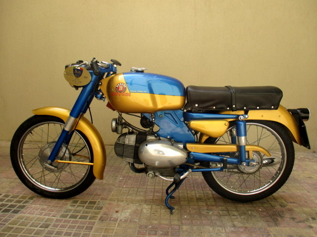 MOTOBI CATRIA TYPE 'LUXURY' 175 4T (1960) PERFECT For Sale (picture 2 of 6)